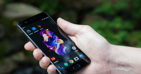 How to s[y on OnePlus 5 via my smartphone?