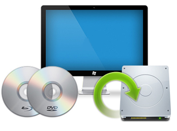 Backup Blu-ray and DVD files
