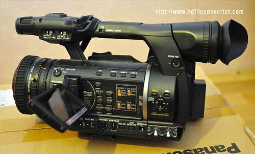 Panasonic AG-AC160A FCP X