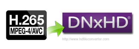 H.265 Video Converter - Convert H.265 to DNxHD