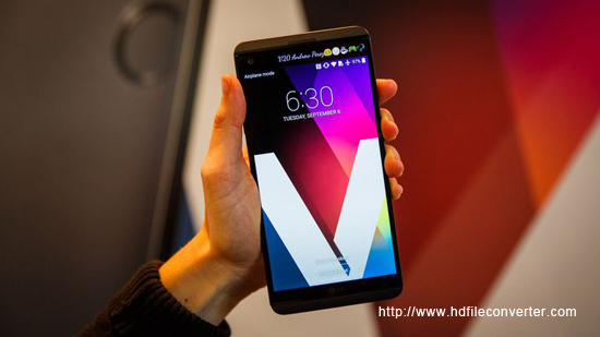 Rip Blu-ray to LG V20 supported formats