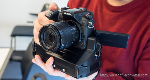 Import and edit Lumix GH4 video in FCP X