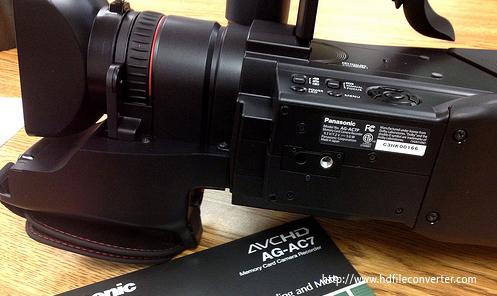 Panasonic AG-AC7 FCP