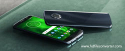 Convert Blu-ray movies to Moto G6 video and audio