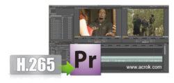 H.265 and Premiere Pro CC - Import 4K H.265 to Premiere Pro CC